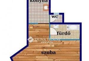 Budapest eladó lakás Erzsébetvárosban a Csengery utcában, 47 négyzetméteres