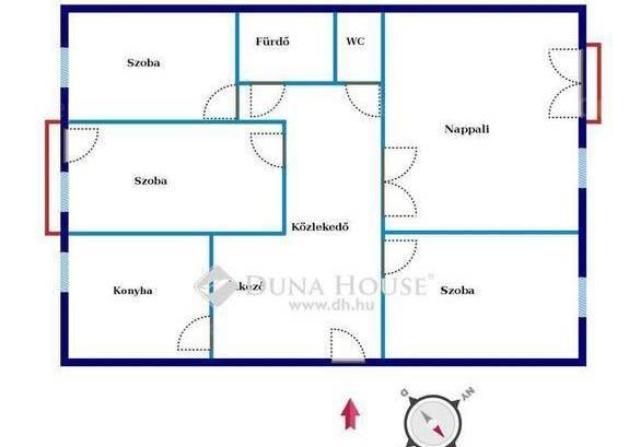 Budapest eladó lakás Soroksár-Újtelepen a Szent László utcában, 80 négyzetméteres