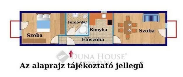 Eladó lakás, Budapest, Alsórákos, Erzsébet királyné útja, 2 szobás