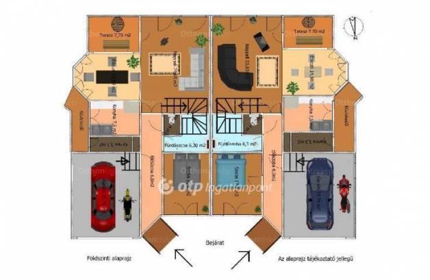 Eladó családi ház Budaörs, 16 szobás