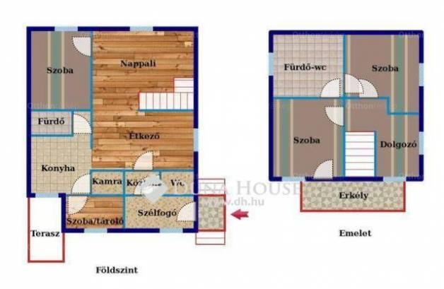 Tanakajd eladó családi ház az Ambrózy sétányon