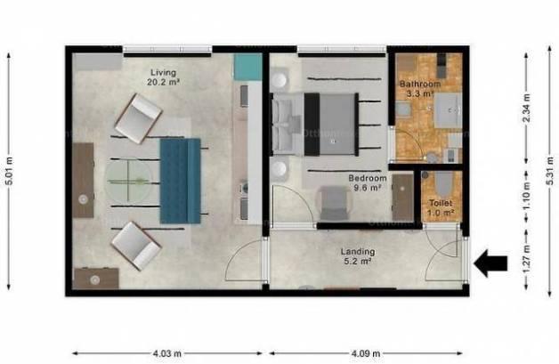 Budapesti lakás eladó, Angyalföld, 1 szobás
