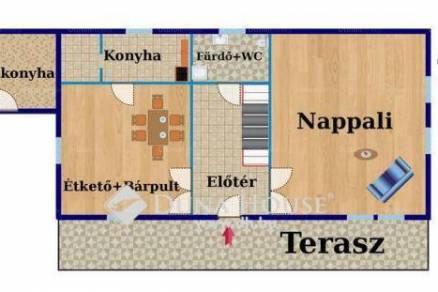 Ráckevei családi ház eladó, 132 négyzetméteres