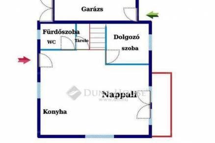Budapest új építésű családi ház eladó, 2+3 szobás
