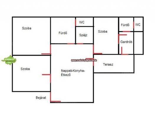 Családi ház eladó Nyíregyháza, 130 négyzetméteres