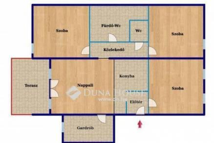 Új Építésű eladó lakás Kozármisleny, 1+3 szobás