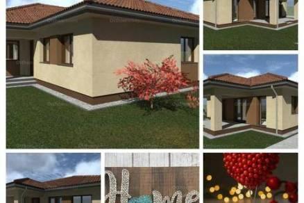 Szombathelyi új építésű családi ház eladó, 100 négyzetméteres, 1+4 szobás
