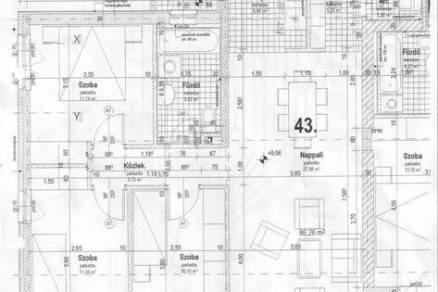 Budapesti eladó lakás, 1+3 szobás, 86 négyzetméteres