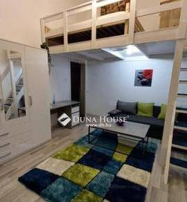 Budapesti lakás kiadó, 34 négyzetméteres, 1 szobás