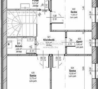 Ajkai új építésű lakás eladó, 118 négyzetméteres, 3+1 szobás
