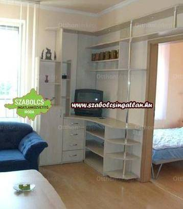 Nyíregyházai lakás kiadó, 34 négyzetméteres, 1 szobás