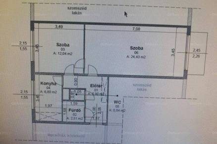 Hajdúszoboszló lakás eladó, 2 szobás