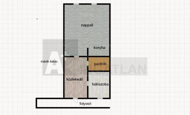 Eladó lakás, Szeged, 2 szobás