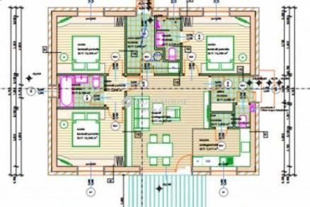 Veszprémi új építésű családi ház eladó, 119 négyzetméteres, 4 szobás