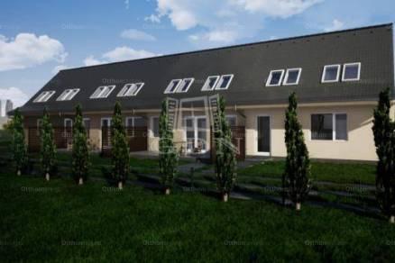 Szolnok 3 szobás új építésű sorház eladó