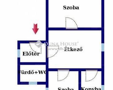 Tatabányai családi ház eladó, 70 négyzetméteres, 2 szobás