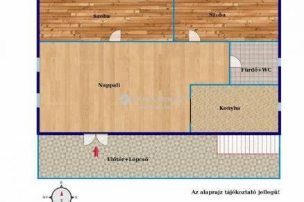 Veszprémi eladó családi ház, 5 szobás, 169 négyzetméteres