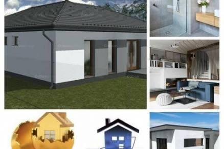 Vép új építésű családi ház eladó, 1+3 szobás