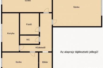 Szeged lakás eladó, 1+2 szobás