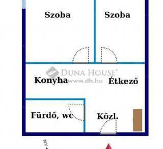 Debrecen 1+1 szobás lakás kiadó