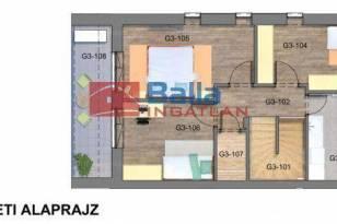 Lakás eladó Budapest, 103 négyzetméteres
