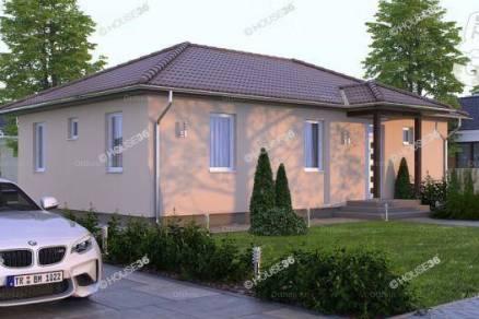 Kecskeméti új építésű családi ház eladó, 98 négyzetméteres, 4 szobás
