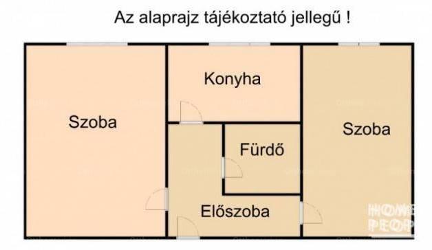 Szegedi lakás eladó, 47 négyzetméteres, 2 szobás