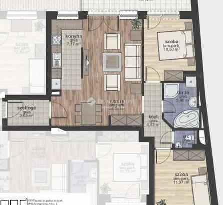 Zalaegerszeg új építésű, 3 szobás