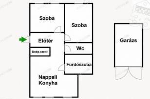 Kecskeméti eladó lakás, 3 szobás, 60 négyzetméteres