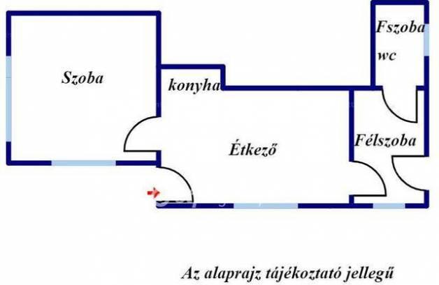 Eladó ikerház Rákoshegyen, 1+1 szobás