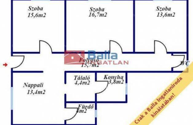Eladó családi ház Pásztó, 3 szobás