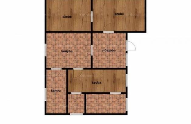 Tiszadada családi ház eladó, 2 szobás