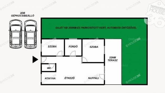 Kecskemét új építésű, 3 szobás