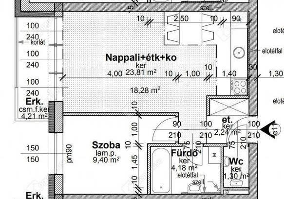 Új Építésű eladó lakás Győr, 2 szobás