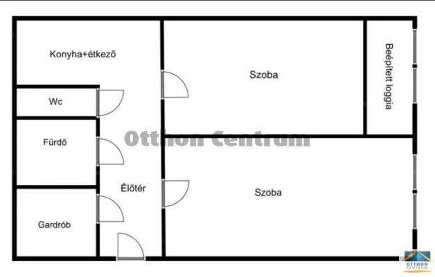 Budapesti eladó lakás, 2 szobás, 50 négyzetméteres