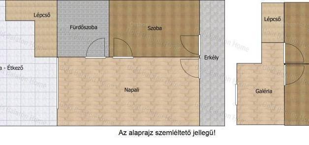 Eladó 4 szobás lakás Keszthely