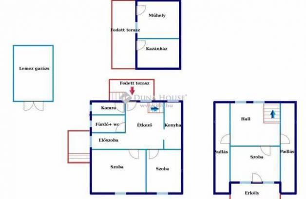 Eladó, Tószeg, 3 szobás