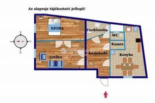 Budapesti, Németvölgy, 2 szobás