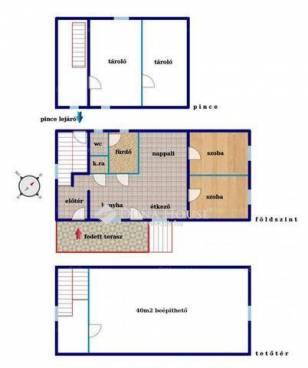 Új Építésű ház eladó Halásztelek, a Bolgárkertész utcában, 120 négyzetméteres