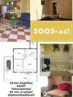 Budapesti házrész eladó, Rákosszentmihályon, Baross utca, 3 szobás