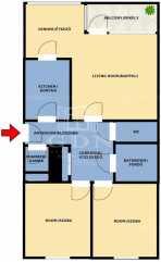 Eladó lakás, Budapest, Toboz utca, 3 szobás