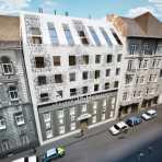 Budapesten eladó új építésű lakás Hajós utca, 67 négyzetméteres