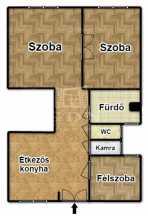 Eladó lakás Erzsébetvárosban, VII. kerület Dózsa György út, 2+1 szobás