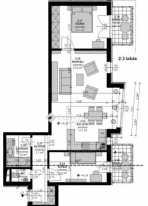 Eladó 2+1 szobás új építésű lakás Ligetteleken, Budapest, Szent László tér