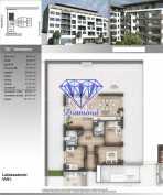Budapesten eladó új építésű lakás Angyalföldön az Angyalföldi úton, 100 négyzetméteres