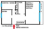 Eladó 1+2 szobás lakás Budapesten, Apály utca 2.