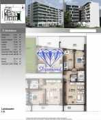 Budapesten új építésű lakás eladó, Angyalföld, Petneházy utca, 67 négyzetméteres