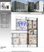 Eladó új építésű lakás, Budapest, Angyalföld, Petneházy utca, 2+1 szobás