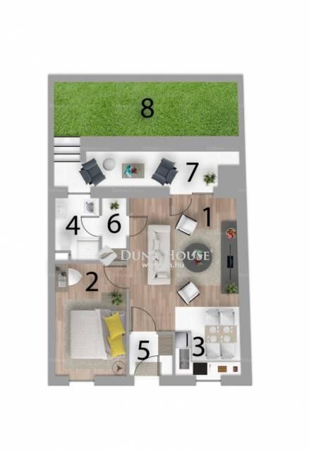 Pécs eladó új építésű lakás Koller utca