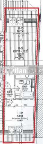 Szegedi új építésű lakás eladó, 37 négyzetméteres, 2 szobás